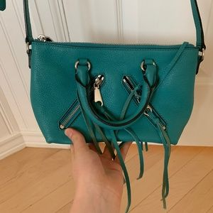 Rebecca Minkoff Turquoise Motorcycle Bag